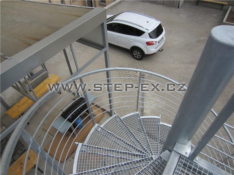 Točité schodiště - Na Maninách