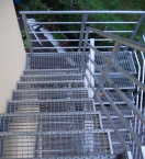 Ocelové schody