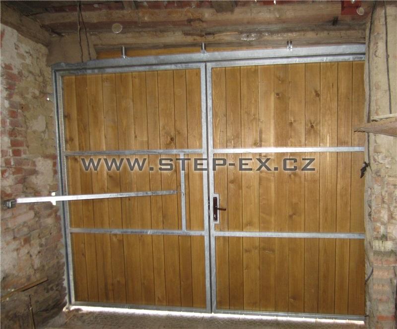 Vrata stodoly - p. Dvořák, Jakubov