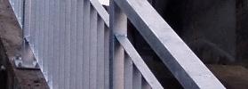 Ocelové, balkonové zabradlí